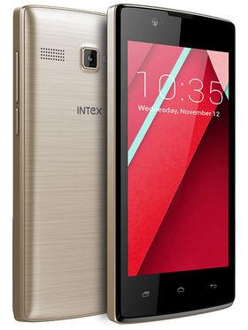 Intex Aqua 3G NS 4 Inch 4.4.2 Android KitKat - Champagne