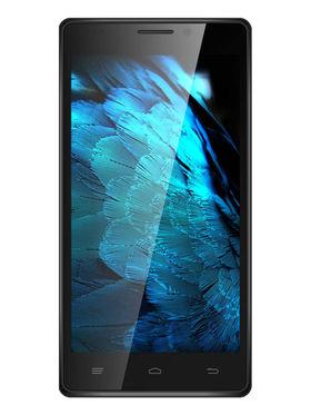 Intex Aqua Power HD 5 Inch Android 4.4.2 (KitKat) - Silver & Black