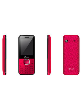 Mtech V2+ Dual Sim Feature Phone -Red