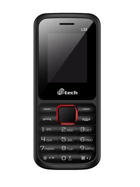 Mtech L33 Dual Sim Feature Phone - Red