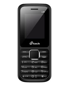 Mtech L33 Dual Sim Feature Phone - Grey