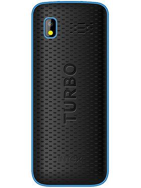 Intex Turbo Star 2.4 Inch Dual Sim - Black & Blue