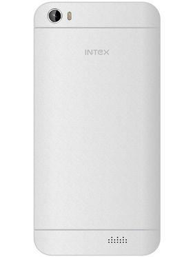 Intex Aqua Turbo 4G 5.5 Inch Android (Lollipop) Smartphone - White