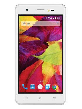 Lava P7 5 Inch Android Lollipop Smartphone - White & Pearl