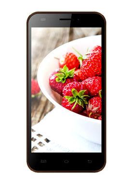 Karbonn Titanium S200 HD 5 Inch Android (KitKat) Dual Sim 3G Calling Smartphone - Coffee & Champ