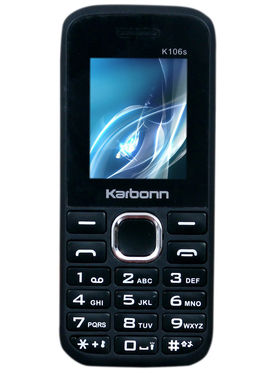 Karbonn K106S 1.8 Inch Dual Sim (Black & Red)