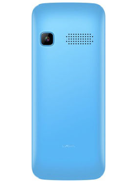 LavaKKT ULTRA PLUS 2.4 Inch Dual SIM Mobile Phone - Black Blue
