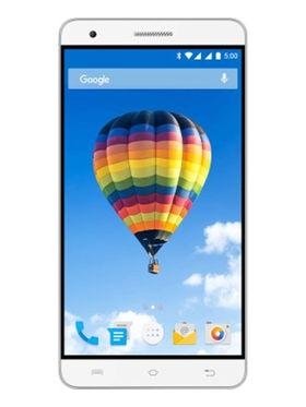 Lava Iris Fuel F2 5 Inch Android Lollipop Smartphone ( ROM : 8GB Battery : 3000 mAh) - White