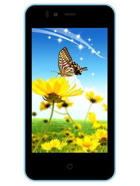 Trio T40s 4 Inch KitKat Smartphone ( Blue & Black )