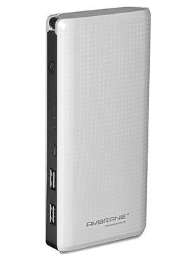 Ambrane P-1311 (15600 mAh) Power Bank - White
