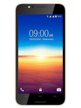 Lava A67 5 Inch Lollipop 3G SmartPhone - Gold