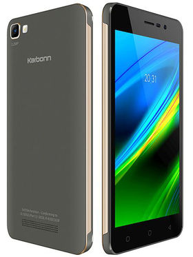 Karbonn K9 Smart(Grey-Gold)