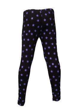 Pack of 2 Little Star Girl's Multicolor Leggings - WB_3221