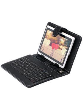 Vizio VZ K02 Dual Core KitKat 3G Wi-Fi Tablet + Keyboard - White