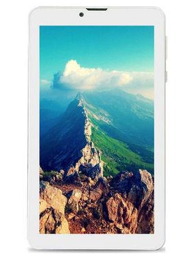 BaSlate 76D-I (RAM : 1GB : ROM : 16GB) 7 inch With IPS Screen Wi-Fi + 3G Calling(White)
