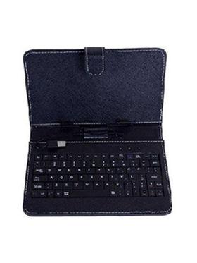 Comb of I Kall IK1 3G Calling Tablet( RAM : 1GB ROM : 4GB) With ( Keyboard, 2000 mAh Powerbank,16GB Card)