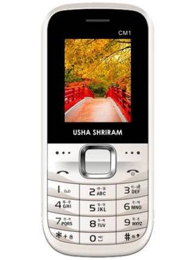 Usha Shriram CM1 Feature Phone - White