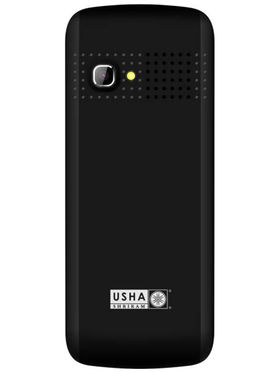 Usha Shriram A3 Feature Phone (Dual Sim,Black & Green)