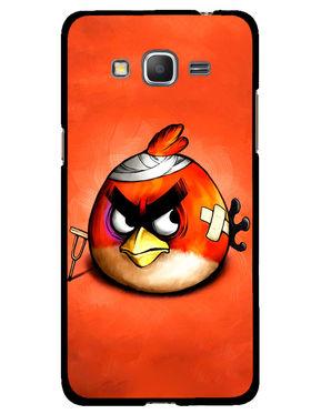 Snooky Designer Print Hard Back Case Cover For Samsung Galaxy Core Prime G360H - Orange