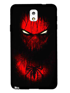 Snooky Designer Print Hard Back Case Cover For Samsung Galaxy Note 3 - Red