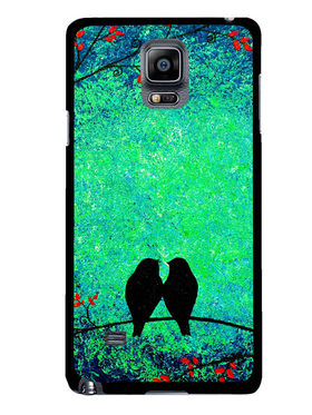 Snooky Designer Print Hard Back Case Cover For Samsung Galaxy Note 4 - Multicolour