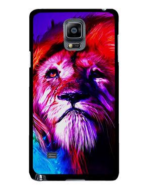 Snooky Designer Print Hard Back Case Cover For Samsung Galaxy Note 4 - Multicolour