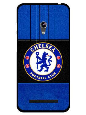 Snooky Designer Print Hard Back Case Cover For Asus Zenfone 4.5 - Blue