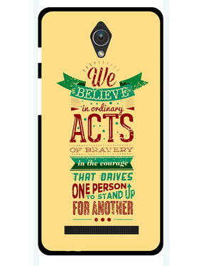 Snooky Designer Print Hard Back Case Cover For Asus Zenfone C ZC451CG - Cream