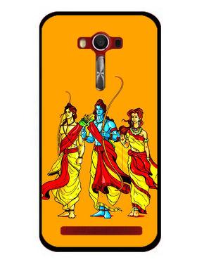 Snooky Designer Print Hard Back Case Cover For Asus Zenfone 2 Laser 5.0 (ZE500KL) - Yellow