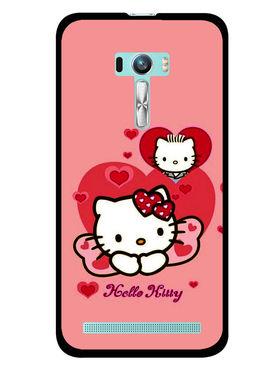 Snooky Designer Print Hard Back Case Cover For Asus Zenfone Selfie ZD551KL - Pink