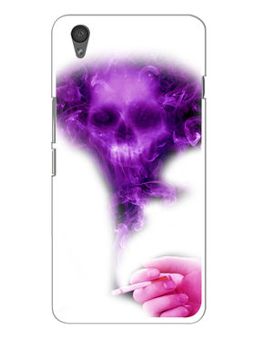 Snooky Designer Print Hard Back Case Cover For OnePlus X - Purple