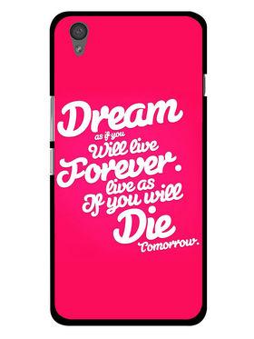 Snooky Designer Print Hard Back Case Cover For OnePlus X - Rose Pink