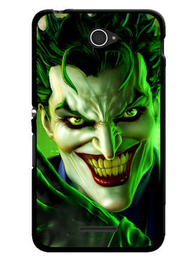 Snooky Designer Print Hard Back Case Cover For Sony Xperia E4 - Green