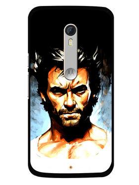 Snooky Designer Print Hard Back Case Cover For Motorola Moto X Play - Multicolour
