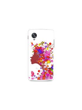 Snooky Designer Print Hard Back Case Cover For LG Google Nexus 5 - Multicolour