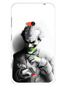 Snooky Designer Print Hard Back Case Cover For Nokia Lumia 625 - Grey