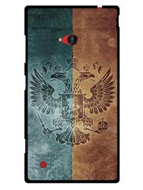 Snooky Designer Print Hard Back Case Cover For Nokia Lumia 720 - Multicolour