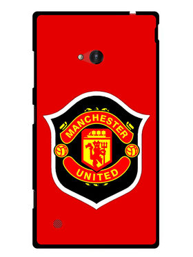 Snooky Designer Print Hard Back Case Cover For Nokia Lumia 720 - Red