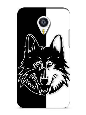 Snooky Digital Print Hard Back Case Cover For Meizu MX4 - Black
