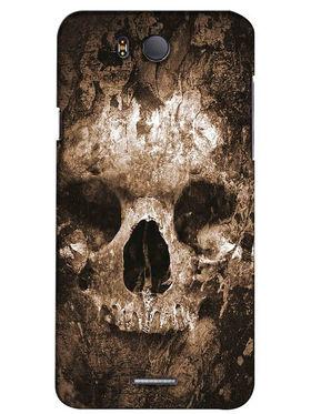 Snooky Digital Print Hard Back Case Cover For InFocus M530 - Brown