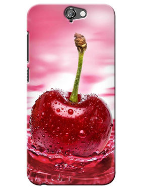 Snooky Digital Print Hard Back Case Cover For HTC One A9 - Rose Pink