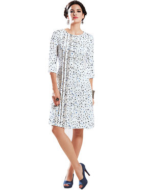 Viva N Diva Printed Georgette Tunic Style Kurti -14305-Vifaa