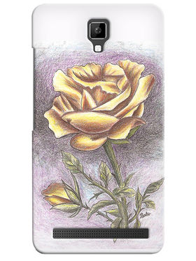 Snooky Digital Print Hard Back Case Cover For Micromax Bolt Q331 - Pink
