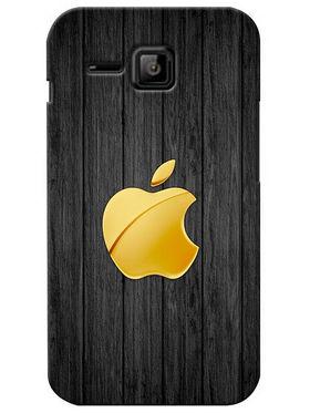 Snooky Digital Print Hard Back Case Cover For Micromax Bolt S301 - Black