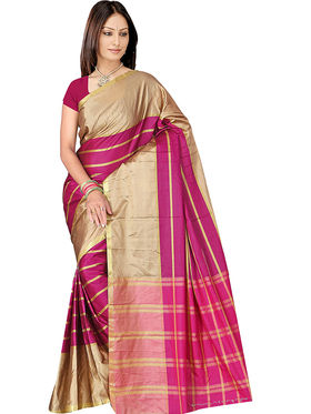Adah Fashions Multicolor South Silk Saree -888-112