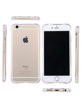 Aeoss Soft & Silicon transparent Case Cover Back Case For iPhone 6 Plus - White