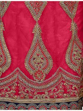 Khushali Fashion Embroidered Lehenga Saree_ASFD2A233