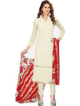 Khushali Fashion Georgette Embroidered Unstitched Dress Material -BRCRHI41006