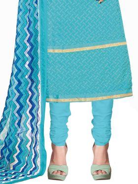 Khushali Fashion Georgette Embroidered Unstitched Dress Material -BRCRHI41007
