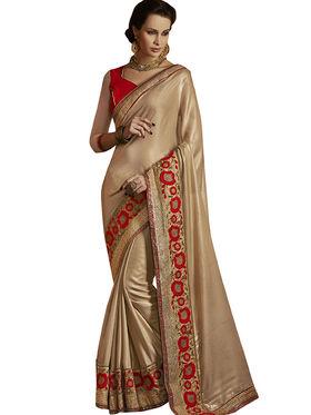 Combo of 3 Bahubali Embroidered Saree - CMB003